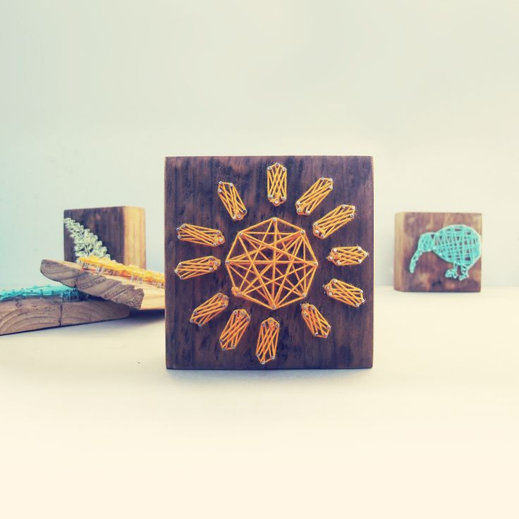 Handcrafted icons for your home - Woolwood! Check it out on www. http://moebl.co.nz/product/yarn-picture-fern/