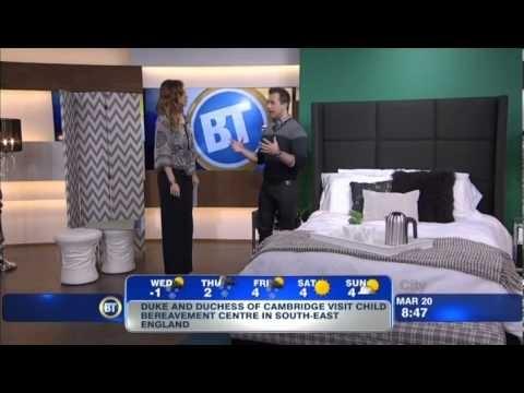 Yanic Simard Octaspring On Citytv Toronto The Interior Designer And Star Columnist Sleep Yogabest Mattresstoronto