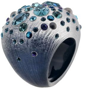 Alexis Bittar | Sapphire Dust Pave Soft Square Ring