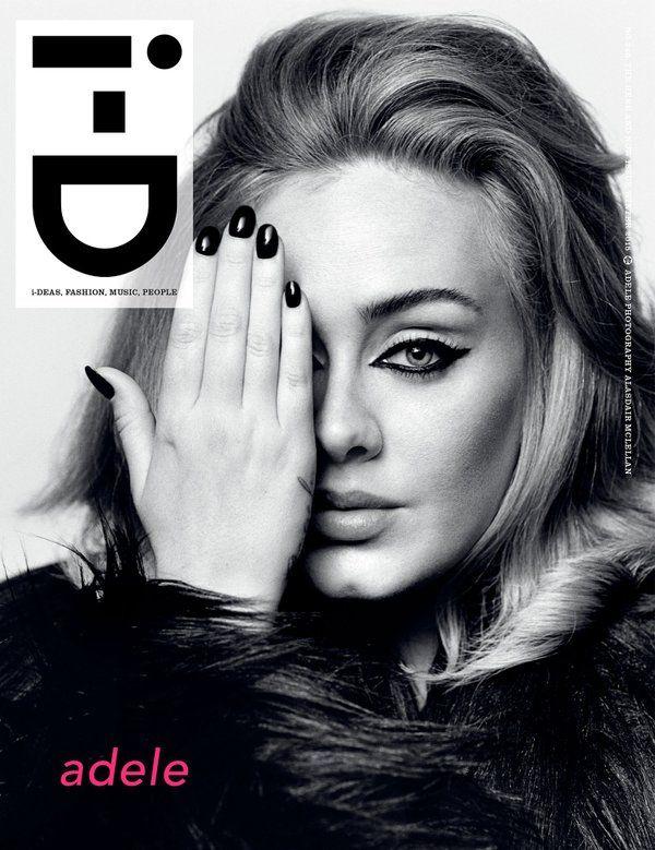 Beauty Mags: Adele | i-D Magazine US Winter 2015