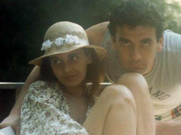 Anna Pavignano e Massimo Troisi