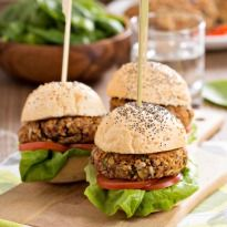 Tofu Burger with Tahini - NDTV