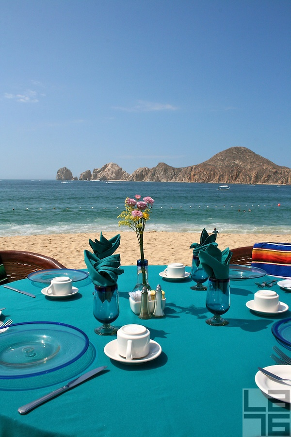 Cabo San Lucas, Mexico - wonderful dinners on the beach