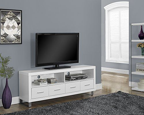 Monarch Specialties White Hollow-Core TV Console with 4 Drawers, 60-Inch, http://www.amazon.com/dp/B00QUEFKSW/ref=cm_sw_r_pi_awdm_iDLFwb02Q1A6V