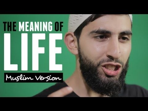 ▶ THE MEANING OF LIFE | MUSLIM SPOKEN WORD | HD. Powerful video message  Removed from YouTube....  Has been deleted from YouTube 7 times. Caused 37 people to convert to Islam and the number is increasing alhamdulillah.   Don't miss it . Share it  http://t.co/fuvBbHphLu