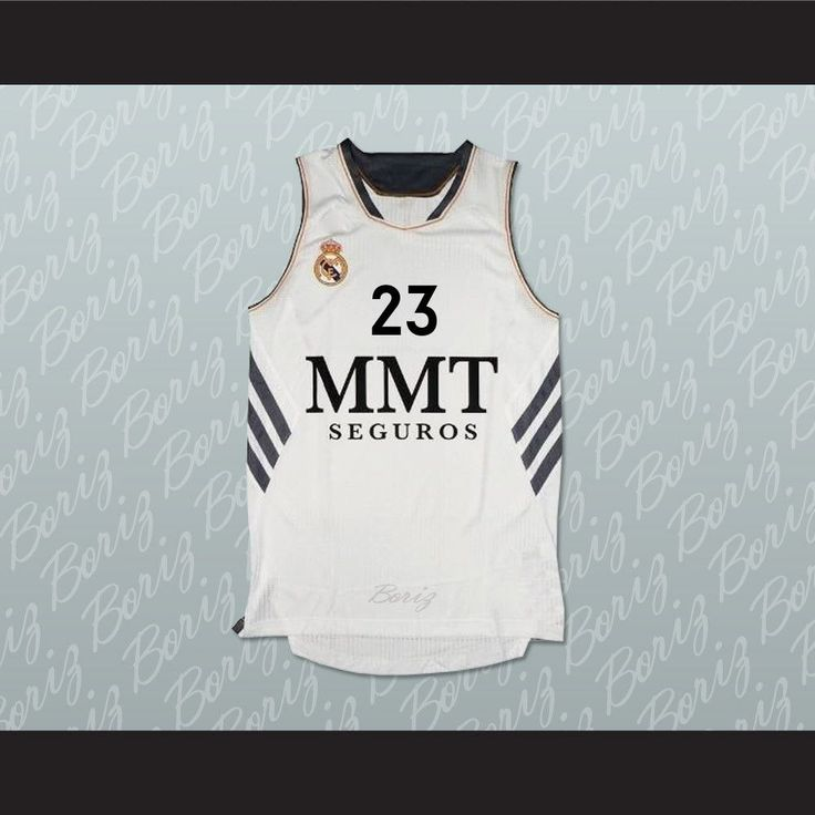 """Sergio Llull Real Madrid Spain Basketball Jersey Any Player Stitch Sewn. SHIPPING TIME IS ABOUT 3-5 weeksI HAVE ALL SIZES and can change Name and #(Width of your Chest)+(Width of your Back)+ 4 to 6 inches to account for space for a loose fit.Example: 18"""" wide chest plus 18"""" wide back plus 4"""" of space, would be a size 40"""".Please consider ordering a larger size, if you plan to wear protective sports equipment under the jersey.size chart chest:XS 30""""-32"""" Chest Measurement (76-81 cm)S 34""""-36""""…"""
