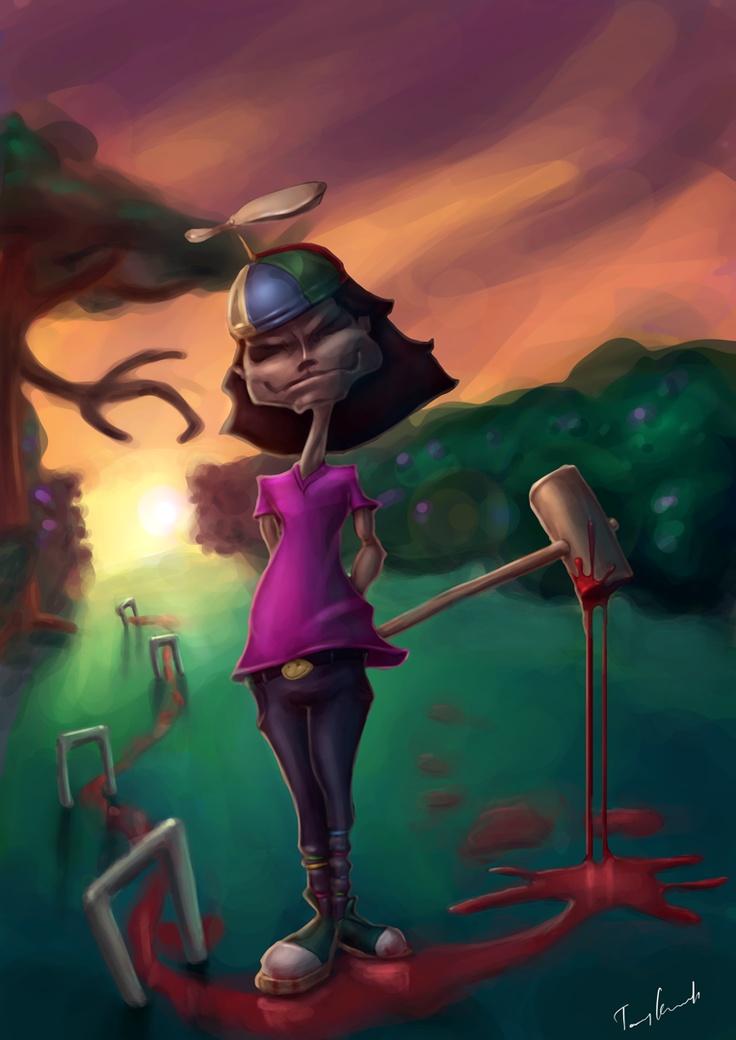 tommy karnerfors ARTcreations: Evil Kid
