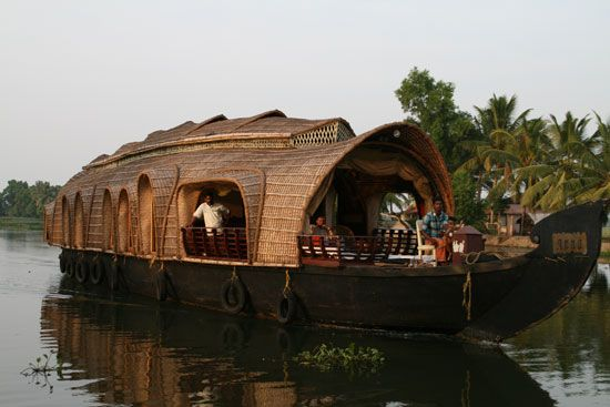 We love houseboats in Kerala, India. More unique and cheap places to stay in India here: http://www.neverendingvoyage.com/7-unique-and-cheap-places-to-stay-in-india/