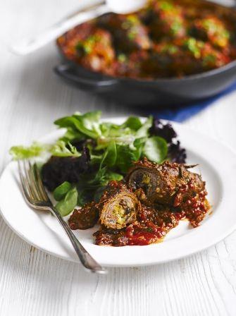 Involtini di Manzo | Beef Recipes | Jamie Oliver