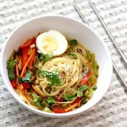 Homemade GF/Vegan Ramen HealthyAperture.com