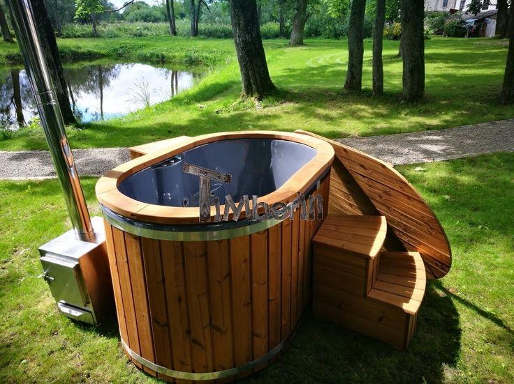 25+ Best Ideas About Badetonne On Pinterest | Badefass, Selbst ... Whirlpool Im Garten Charme Badetonne