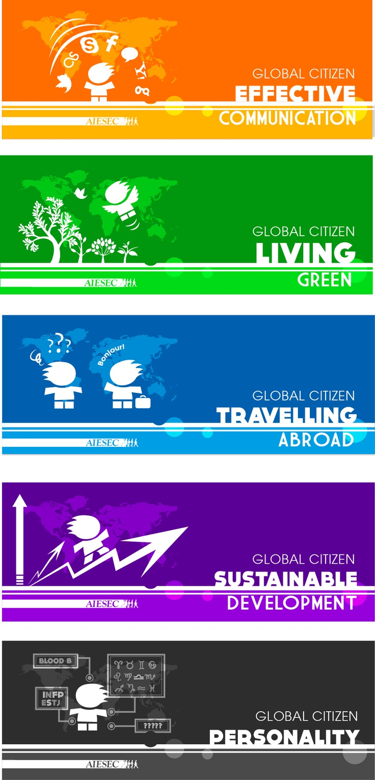 5 Bookmarks for AIESEC Global Citizen Project