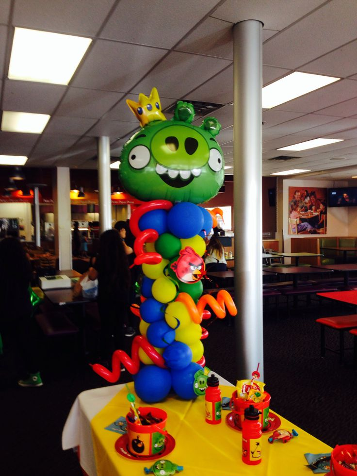 101 best ninja turtles angry birds images on pinterest for Angry birds party decoration ideas
