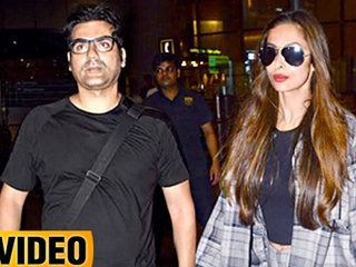 Malaika Arora & Arbaaz Khan Spotted Together While Returning From IIFA 2017