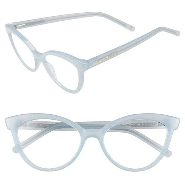 kate spade new york 'danna' 52mm cat eye reading glasses (91 AUD) ❤ liked on Polyvore featuring accessories, eyewear, eyeglasses, milky mint, reading glasses, reading eye glasses, cat-eye glasses, retro glasses and retro eyeglasses