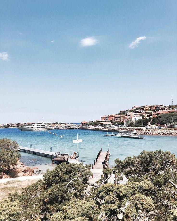 "Sardinia -Porto Cervo Such a pretty little town by the sea! 💙🏡 #portocervo #italy #sardinia"""