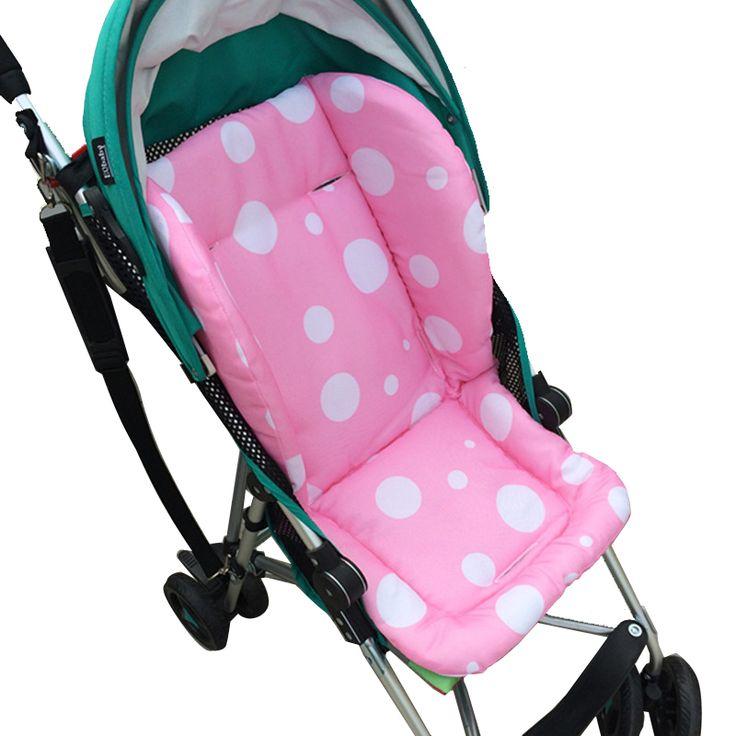Mother & Kids Dedicated Cartoon Patterns Warm Stroller Cushion Seat Cover Diaper Pad Cotton Baby Cart Mat Kids Sleeping Mattress Pram Accessories