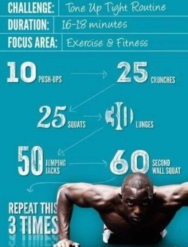 Holidays making you feel bloated? Tone up with this quick and easy routine! #FitnessFrenzy #FinishStrong