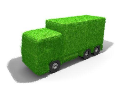 milieu - groene vrachtwagens