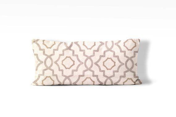 lumbar pillow cover 12x24