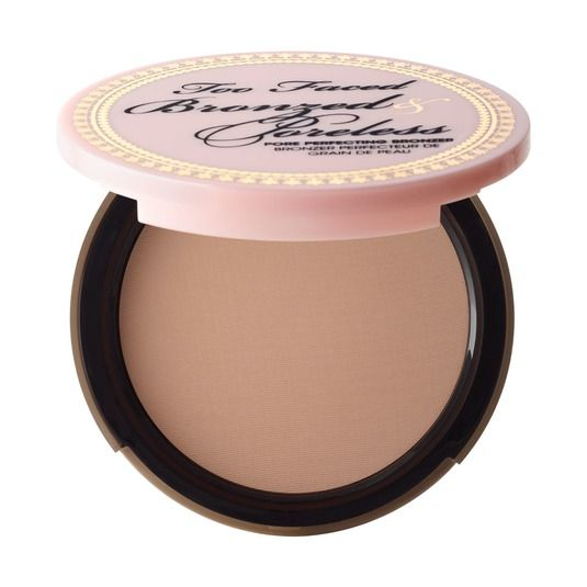 Bronzed and Poreless Pore Perfecting Matte Bronzer - Too Faced