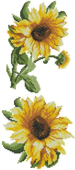 Advanced Embroidery Designs - Sunflowers