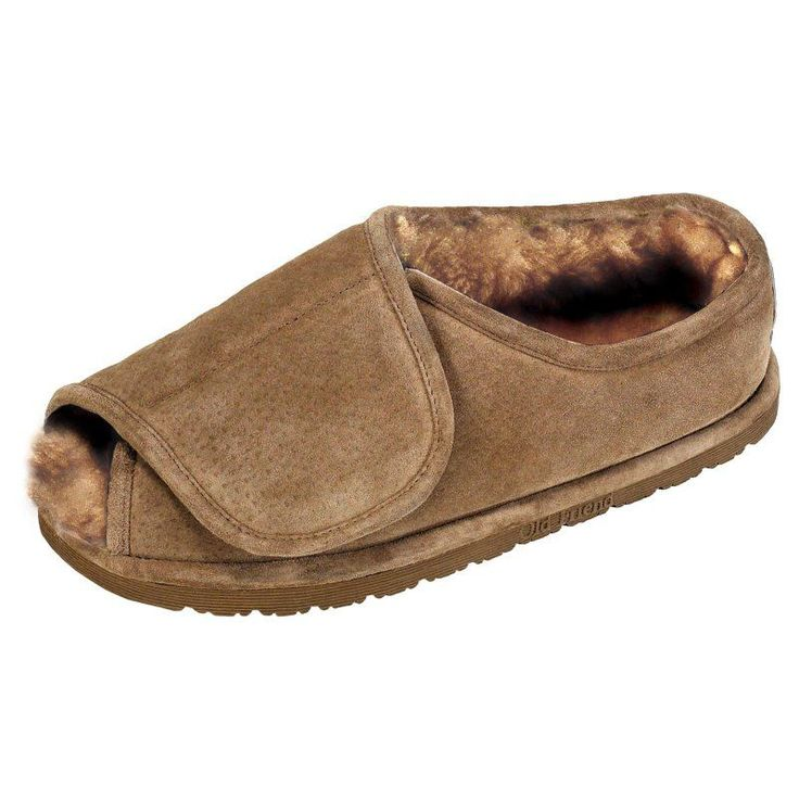 Old Friend Step-In Womens and Mens Slippers, Size: X-Large - 12-13