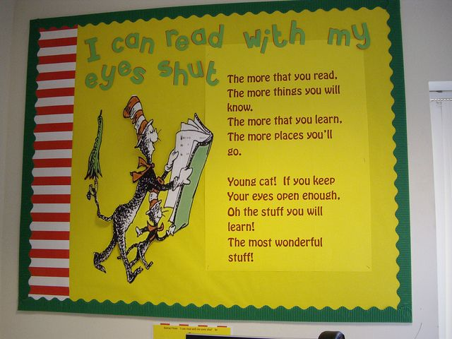 Cute bulletin board, or quote to use.
