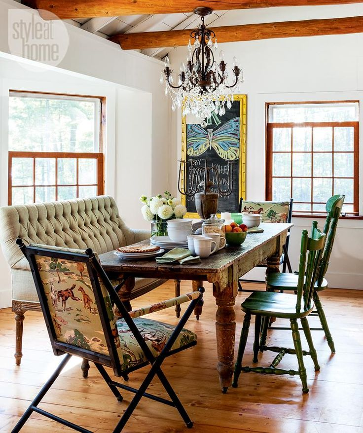 Eclectic Dining Room Tables: 84 Best Images About Dining Rooms On Pinterest