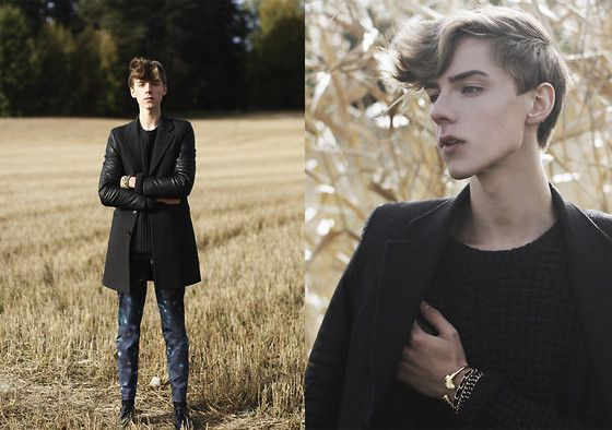 Weekday Sweater, Lotus Apparel Nefertiti Cuff, Bracellets, Cos Trousers