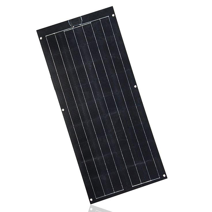 Elfeland SP-26 100W 12V 1230x540X2.5mm ETFT Panel flexible Solar con unión de chip Power Sun Caja
