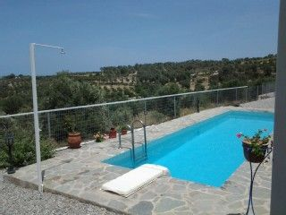 Terraced house with pool 2-4 persons and sea views