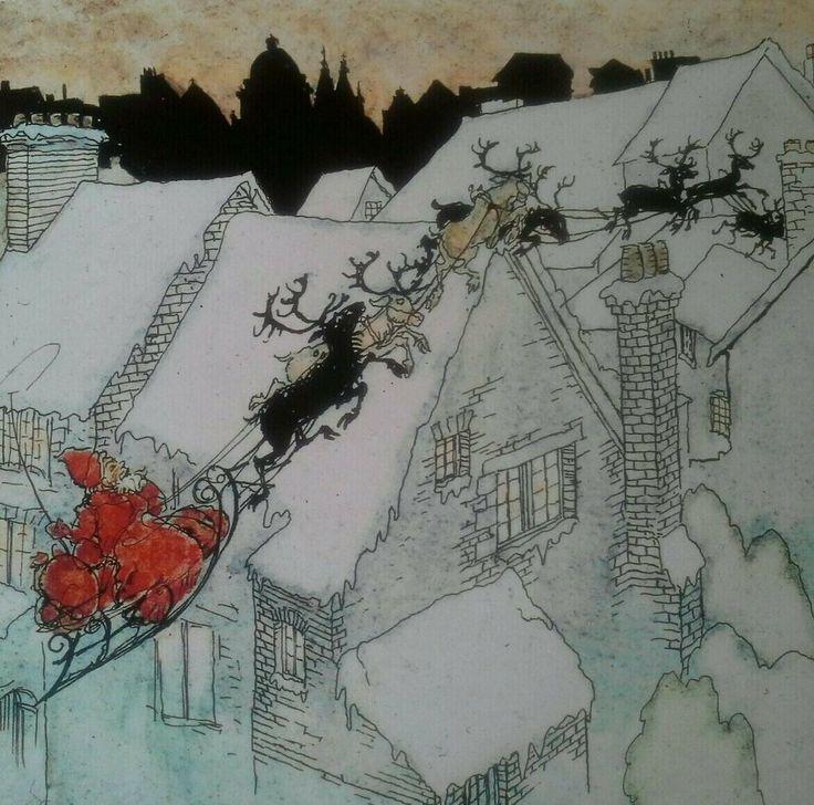 Arthur rackham christmas cards
