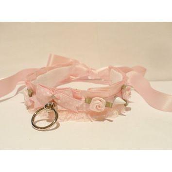 Polka Dot Princess Collar - Kitten's from Kitten's Playpen
