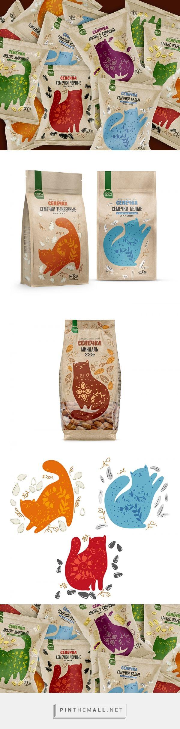 Senechka | nuts packaging | designed by Ohmybrand