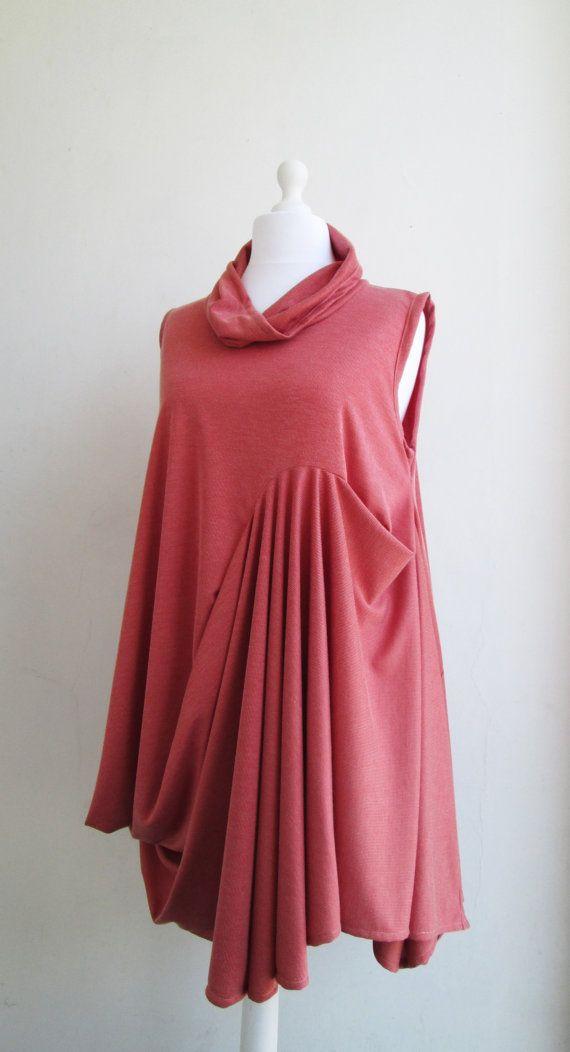 MISS MARMALADE Dress Tunic Vest Sleeveless Artistic by Converte, $75.00