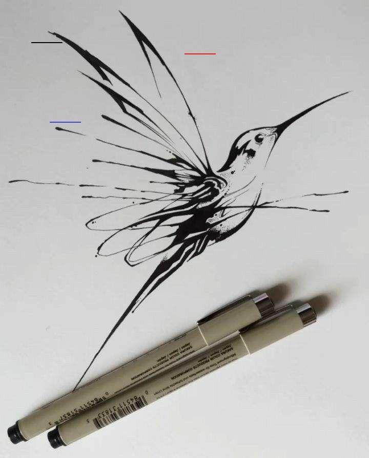 32++ Tatouage colibri noir et blanc ideas