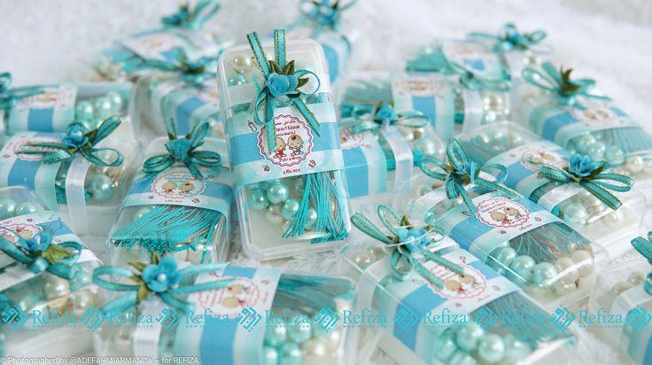 Souvenir 4 bulan kehamilan tasbih paket 2 dengan kemasan yang unik, cantik dan elegan cocok untuk souvenir di moment spesialmu.