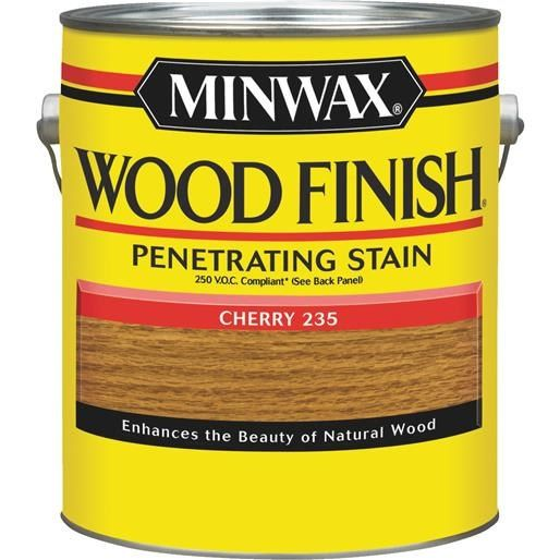 Minwax Voc Cherry (Red) Wood Stain 710790000 Unit: GAL