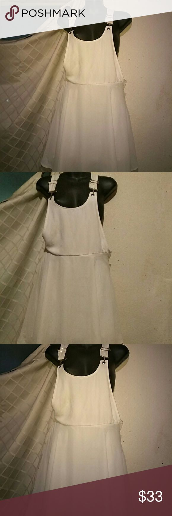 White coverall dress SD am NAST GAL White coverall dress Nasty Gal Other