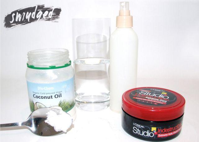 http://smudgedbeauty.wordpress.com/2013/08/02/coconut-oil-3-way/ sea salt hairspray DIY