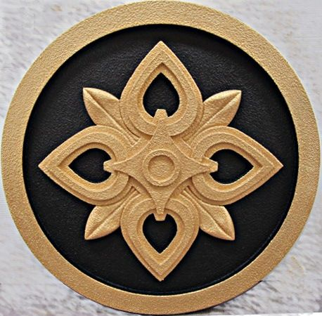 Exterior medallion made from foam for exterior wall design architectural elements for your for Architectural medallions exterior
