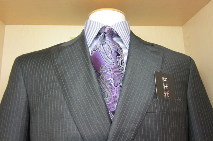 David's Master Collection suit, Zegna tie