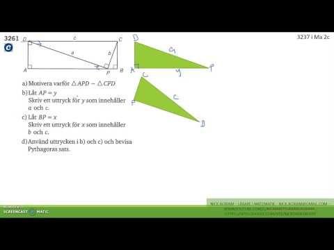 Matematik 5000 Ma 2b   Kapitel 3   Några bevis med likformighet   3261