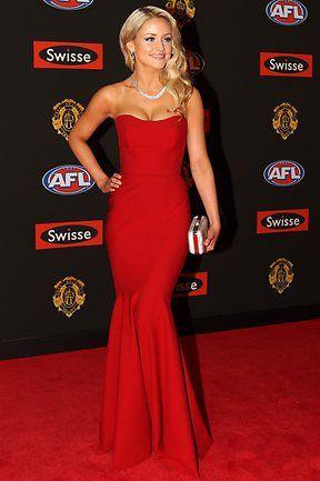 2012 AFL Brownlow Medal red carpet   2012 Brownlow Medal red carpet   The Australian