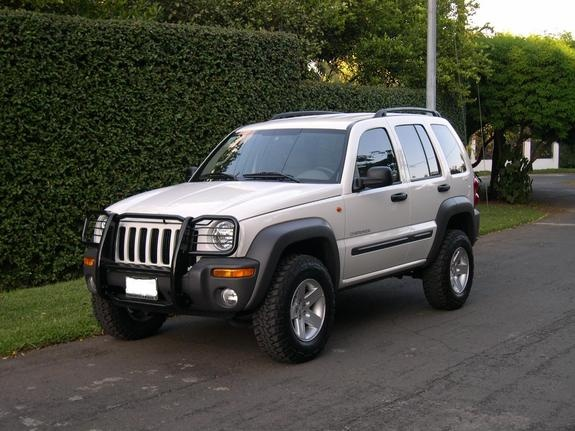 jeep liberty with off ...