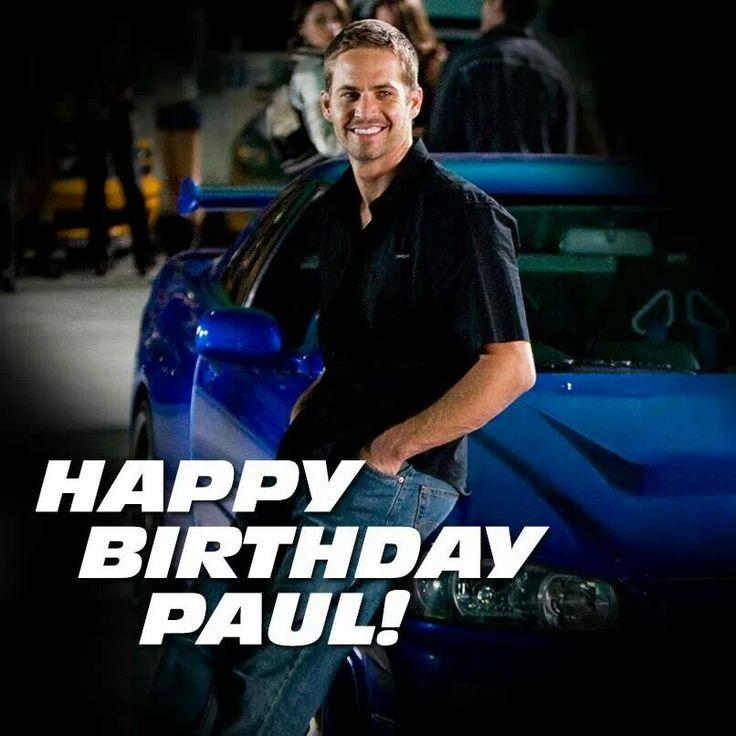 17 Best Ideas About Paul Walker Birthday On Pinterest