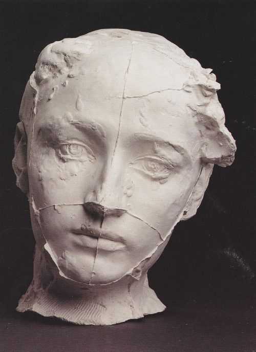 Auguste Rodin, The Mask of Camille Claudel, 1887