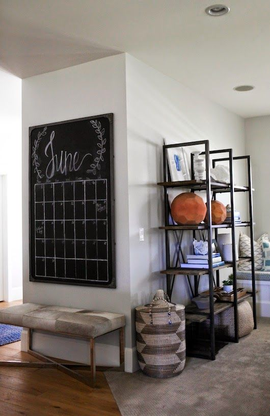 best 25+ chalkboard wall calendars ideas on pinterest