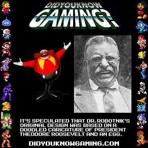 DR. Robotnik based on Teddy Roosevelt? | DYK Gaming ...